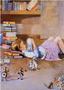 Postcard Alice in Wonderland | Reading