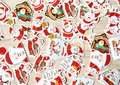 Sticker Flakes Box | Santa Christmas