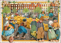 Postcard Edition Tausendschoen | Holland - Cheese Market