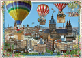 Postcard Edition Tausendschoen | Holland - Hot Air Balloons