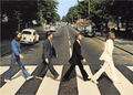 Postcard | The Beatles - Abbey Road 1969