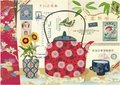 Illustrated notebook Gwenaëlle Trolez Créations - Kimono