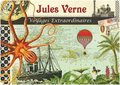 Illustrated notebook Gwenaëlle Trolez Créations - Jules Verne