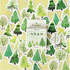 Sticker Flakes Box | Forest with a difference_