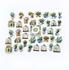 Sticker Flakes Box   Houses loves Plants_
