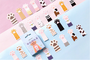 Sticker Flakes Box | Cats Paws_