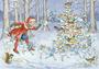 Postcard Molly Brett | The Snow Fairies_