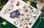 Sticker Flakes Box Yuxian | Merry Christmas_