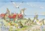 Postcard Molly Brett | 'A Day by the Sea'_