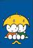Nijntje Miffy Postcards | Nijntje in de regen_