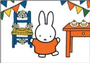 Nijntje Miffy Postcards   Nijntje viert feest_