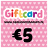 Stationery Heaven Giftcard - 5 euro_