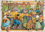 Postcard Edition Tausendschoen | Holland - Cheese Market_
