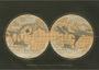 Postcard | Mappemonde Geographique de la Planete Mars, Terres du Ciel_