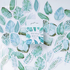 Sticker Flakes Box | Mint Diary - Cute Leaves_