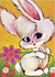 Postcard | Fab 70s Rabbit_