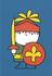Nijntje Miffy Postcards | Daan als ridder_