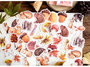 Sticker Flakes Box | Forest Animals & Decorations_
