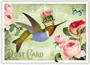 Postcard Edition Tausendschoen   Kolibri_