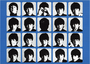 Postcard | The Beatles, A Hard Day's Night 1964+_