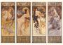 Postcard Tushita Fine Arts   Alphonse Mucha - The Seasons_